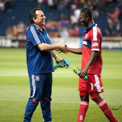 Doctor Munoz at Chicago Fire Soccer