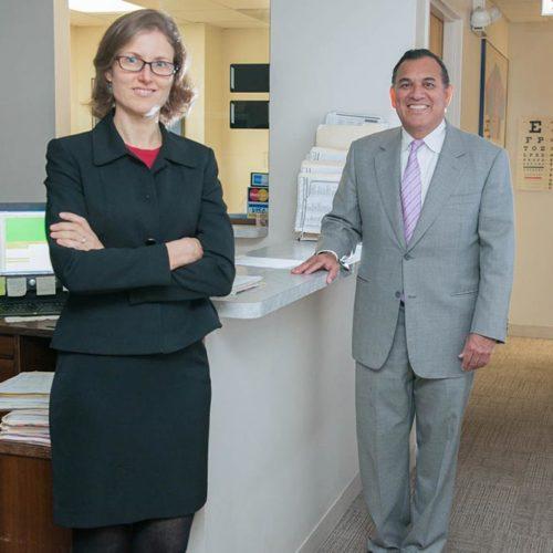 Dr Teresa Cvengros & Dr Gilberto Munoz Headshots